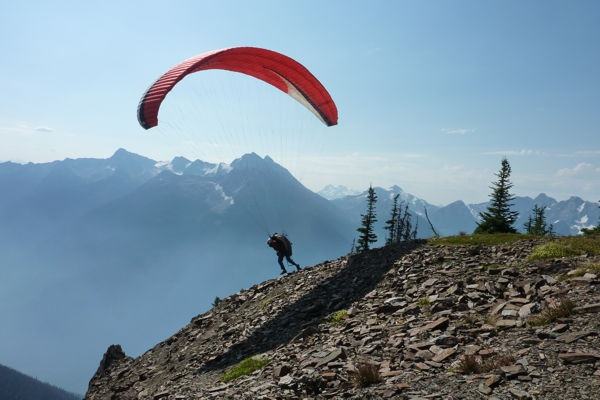 Pemberton Valley's paragliding launch provides access to one of North America's best paragliding locations.