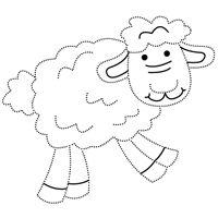 Kiddoland: Uzupełnianka Owieczka