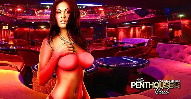 Danseuses - strip teaseuse - Penthouse Club Paris