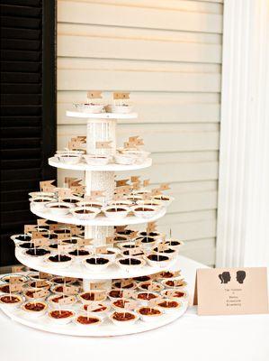 Summer Wedding Desserts Mini Pie Display Dessert Spotlight Pies And Tarts