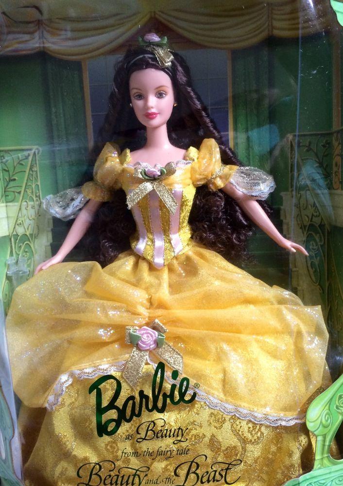 Rare Disney Princess Belle USA Barbie Doll Collectors
