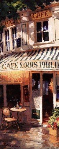 George Botich Cafe art