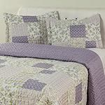 Colcha Queen Boutis Jasmine com 2 Porta-Travesseiros - Casa & Conforto