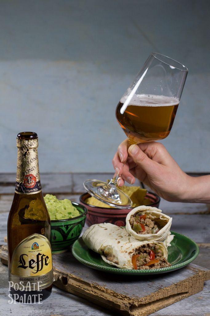 Cena messicana veloce con burritos e guacamole_Posate Spaiate