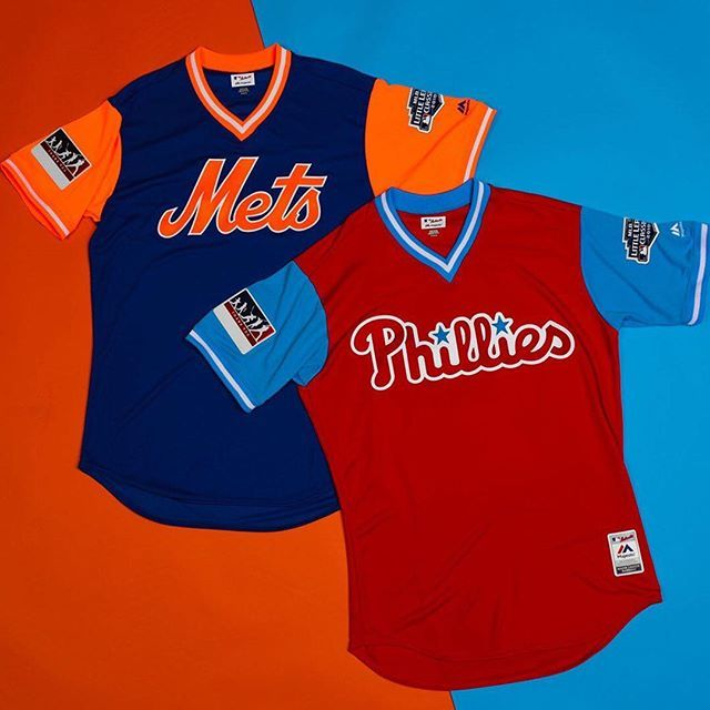 64e2db21 Mets & Phillies wearing Players Weekend jerseys for the Little ...