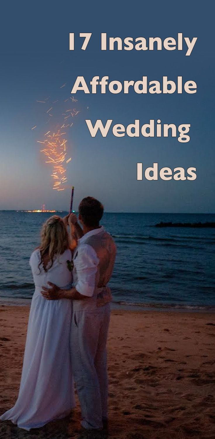 Warning: These wedding ideas will shock you with how insanely affordable they are!