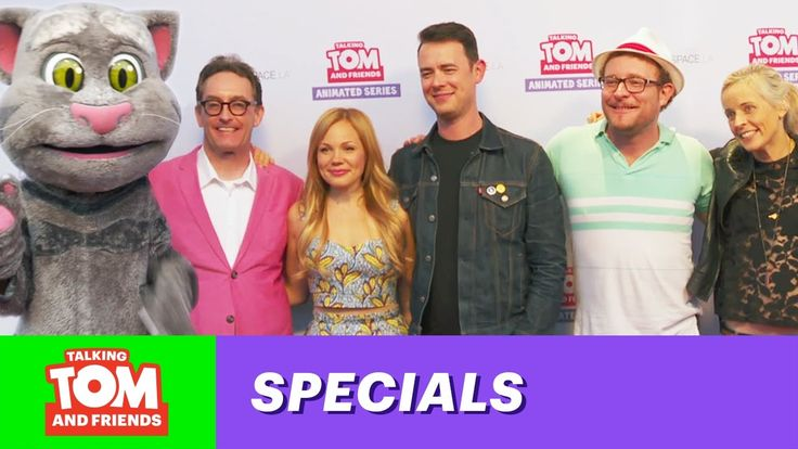 Talking Tom and Friends - Meet the Cast xo, Talking Angela #TalkingFriends #TalkingAngela #TalkingTom #TalkingGinger #TalkingBen #TalkingHank #Video #New #YouTube #Episode #MyTalkingAngela #LittleKitties #TalkingFriends #ColinHanks #Tom Kenny #JamesAdomian #MariaBamford #LisaSchwartz.