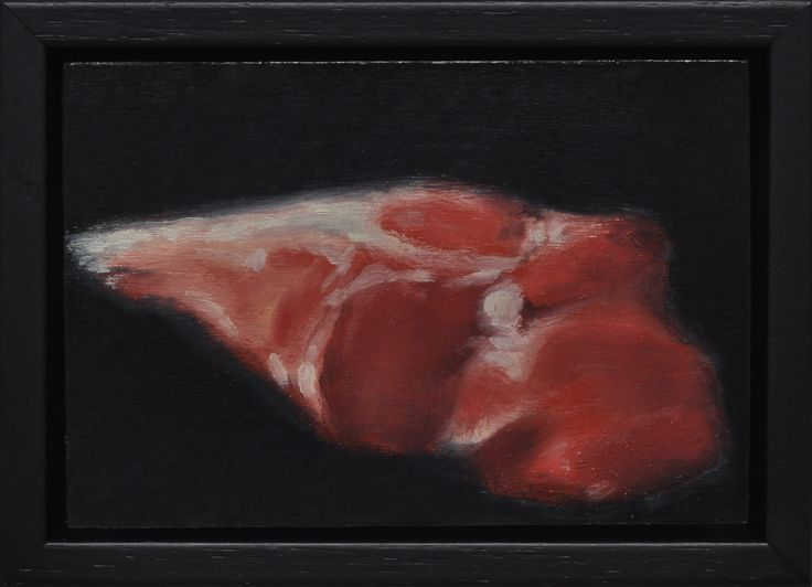 Roo Cut #1 - Oil Painting