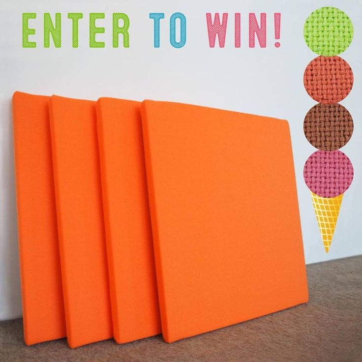 GIVEAWAY!!!   In celebration of National Ice Cream Day, we're giving away 4 of our Sherbet sound panels! Enter to win by commenting with your favorite flavor on instagram (click image) of our upcoming Fall fabrics: Key Lime, Burnt Orange, Raspberry, and Caramel. One lucky winner will be notified next week! 🍦🍨🍧