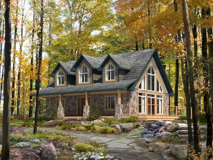 17 best ideas about mountain house plans on pinterest for Canadian cottage house plans