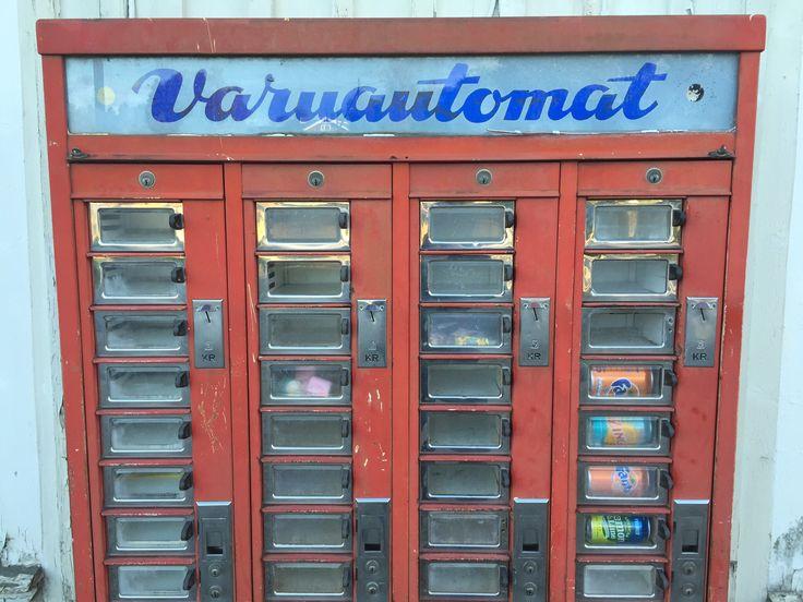 Skällsäter. Dalsland. Sweden. Vending machines, still in
