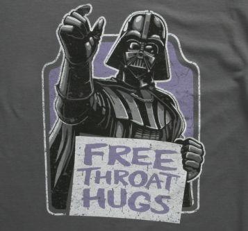 Star Wars Free Throat Hugs TShirt