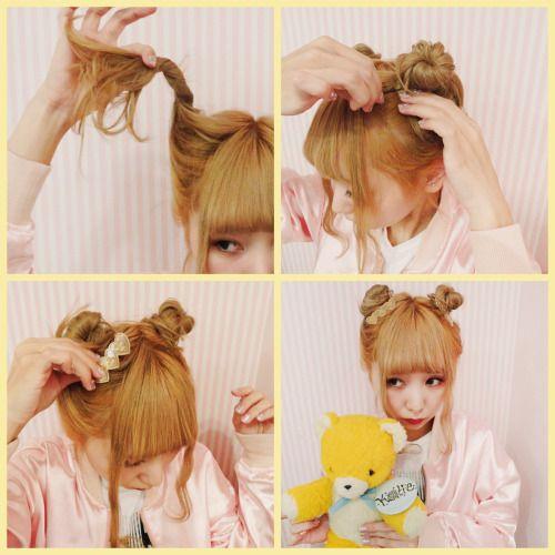 """auris-cosplay: """"Teddybear hair tutorial """""""