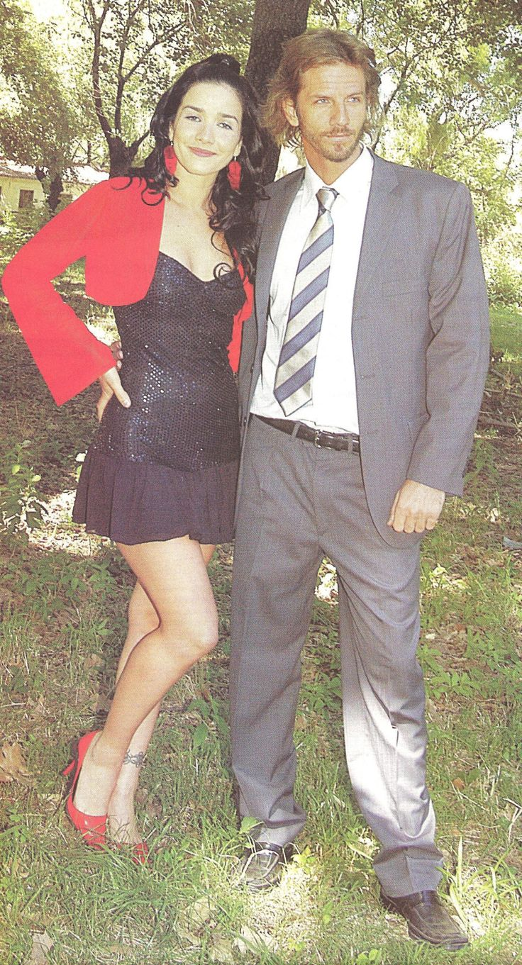 Natalia Oreiro And Facundo Arana