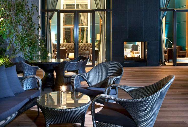 The St. Regis Osaka - Terrace - Japan & Luxury Travel Advisor – luxurytraveltojapan.com - #Luxuryhotels #Osaka #Japan #Japantravel #stregisosaka