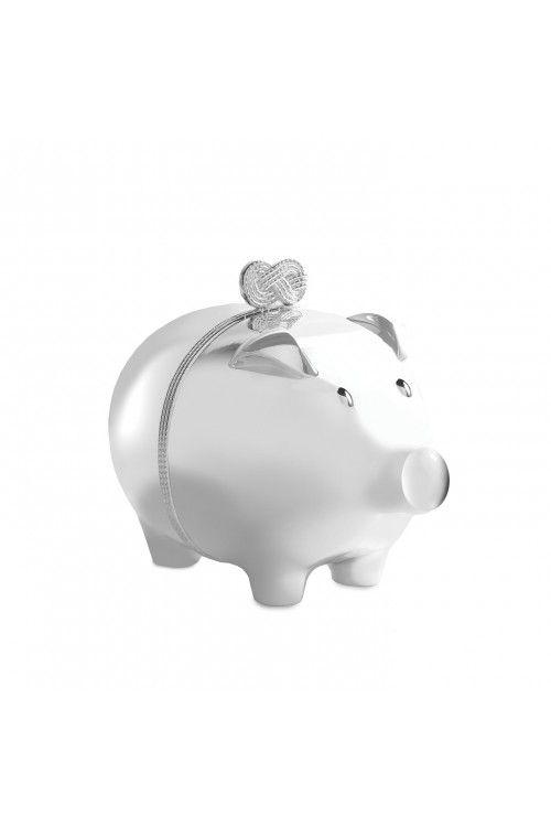 Wedgewood - Vera (Wang) Infinity Baby Piggy Bank