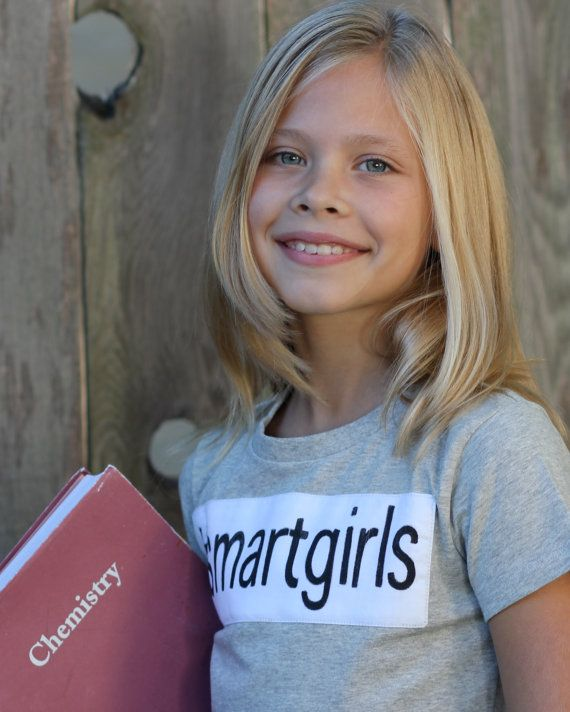 Sale Tween Girls Tshirt For Smart Girls And By
