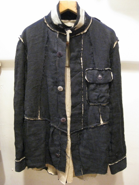 TAKAHIROMIYASHITATheSoloIst. layered CPO linen jacket from ss11
