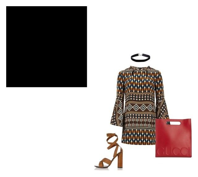 """Gucci Mark"" by aayeshaofficial on Polyvore featuring Gucci and Miss Selfridge"