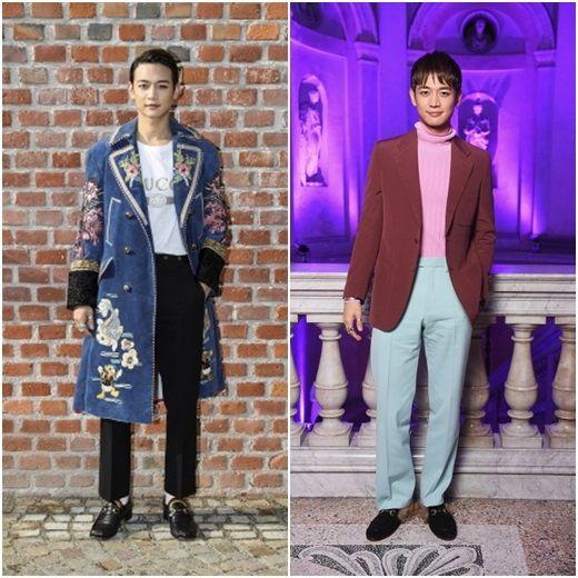 """SHINee Min Ho, """"tekintete"""" jelent meg a gyűjtemény ... Férfi szépség egészalakos GUCCI - Szórakozás - koreai és a koreai szórakoztató híreket Kstyle"""