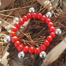 Bell Braclet - Protection and Joy through Sound - Red. Bells have long been the used by shaman of many cultures to scare of dark and negative energies. People of many cultures are known to have used bells for scaring away anything that seems out of normal state of living, even harsh winds. Bells are also used to call people to  and weddings. Bells are used in ceremonial dances of many cultures to celebrate joy and happiness. $12.00au