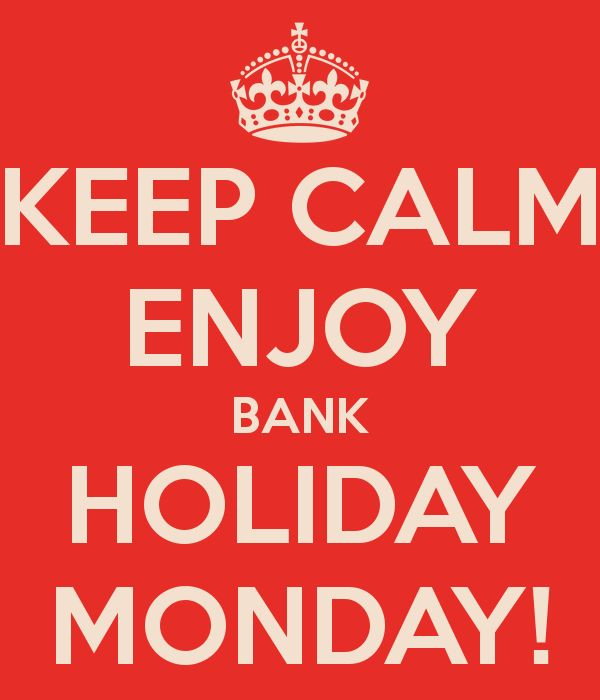 Hope you'll enjoy this #BankHoliday despite wet #Weather... Happy Bank Holiday from #London! #PraiseGod