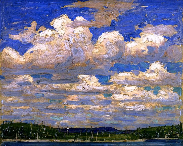 Summer Day Tom Thomson - 1915