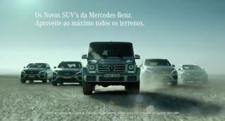 BmotorWeb: Vídeo: Comercial Mercedes-Benz SUV's em Portugal