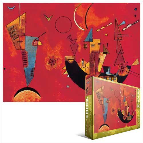 Mit und Gegen, c. 1929, Jigsaw Puzzle by Wassily Kandinsky at  - crazy hard I bet