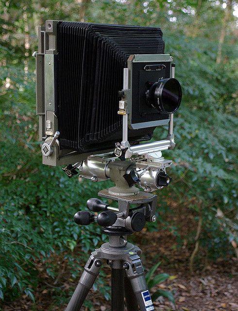 Sinar 8x10 camera