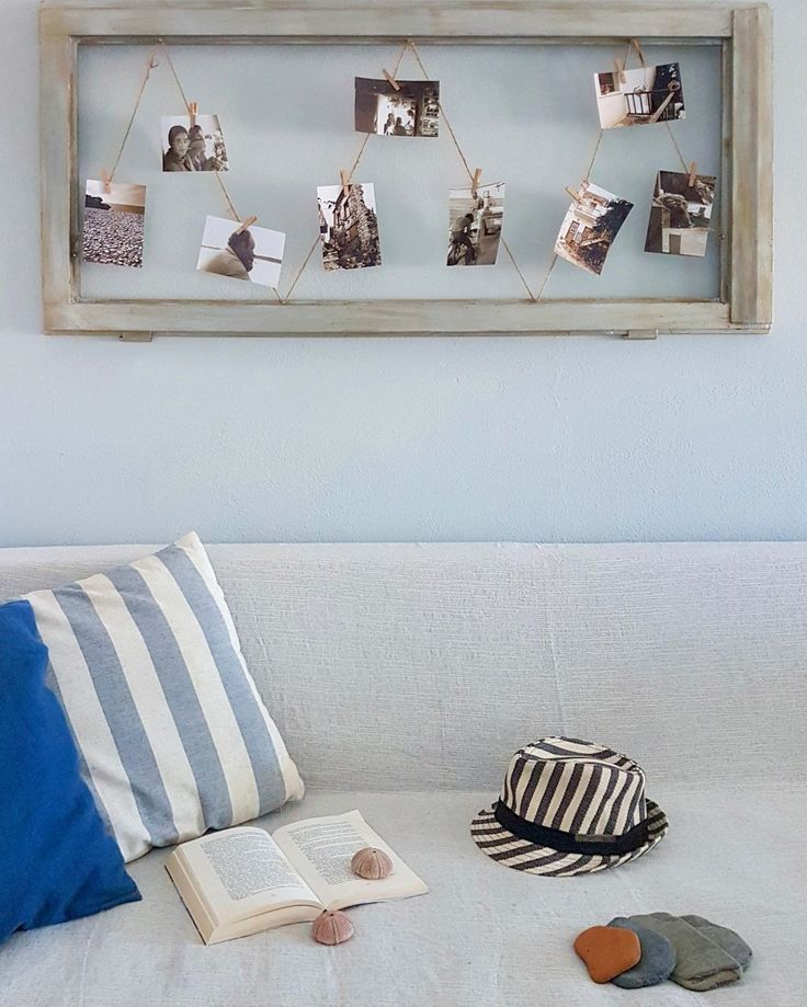 Summer with style...🎩🎩 Summer with stripes...👀 Summer in Angelos Apartments...🤝🏠🤝 🌍 www.angelosalonissos.com #angelos_apartments #alonissos #sporades #greece #summer2017 #renovation #guests #hat #pebbles #handmade_decoration #photos #book #window
