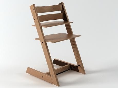 stokke tripp trapp 3d model n a dc pinterest stole og modeller. Black Bedroom Furniture Sets. Home Design Ideas