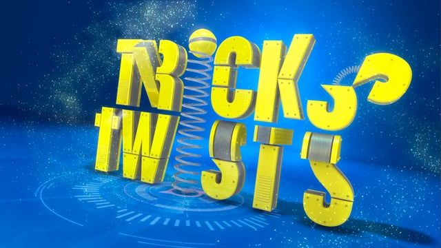Motion Graphics Title Sequence created for Disney Channel's 'Tricks & Twists' Interstitial.