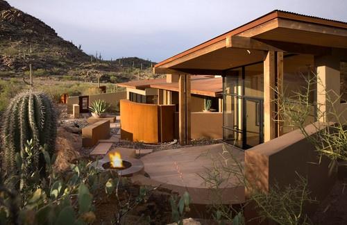 Rancho Nuevo contemporary patio
