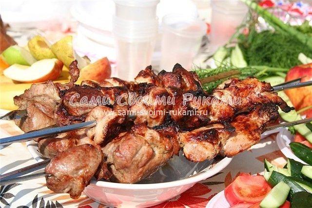 Маринад для шашлыка из свинины по армянски
