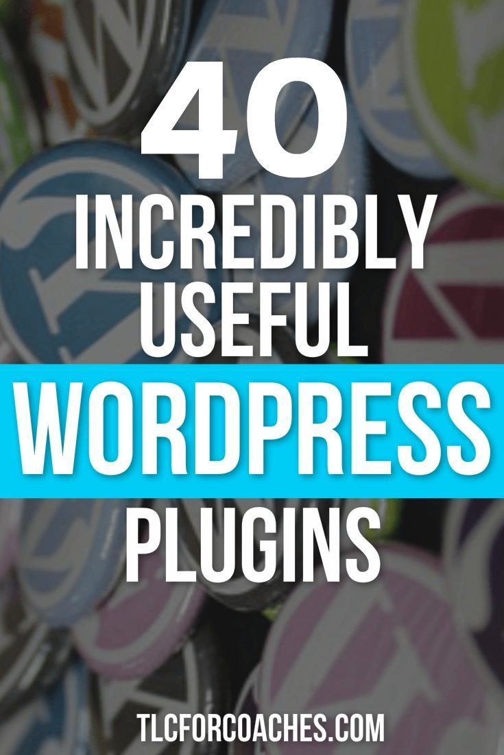 Awesome #plugins for #WordPress, sorted by category.