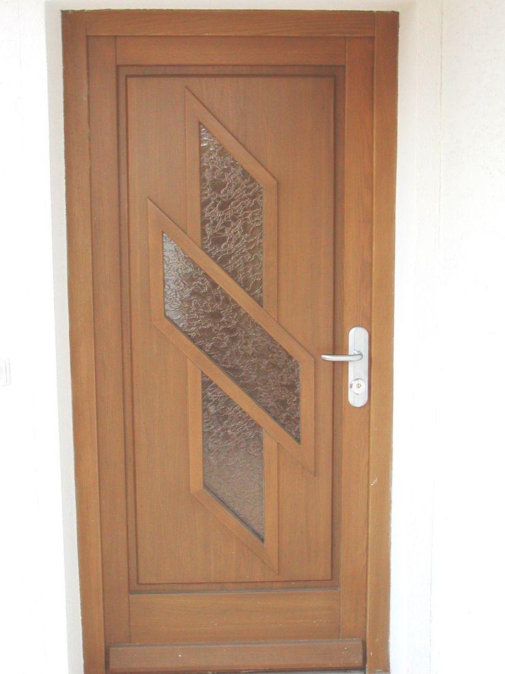 Natural Veneered Wooden Flush Door Design Mdf Living Room: 24 Best Contemporary Front Entry Doors Images On Pinterest