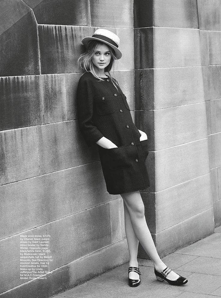 Rosie Love Hats photographed by David Mandelberg (Marie Claire Australia)