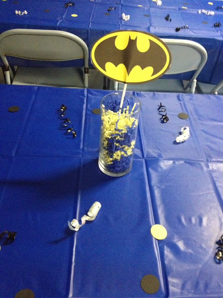 Batman Centerpiece
