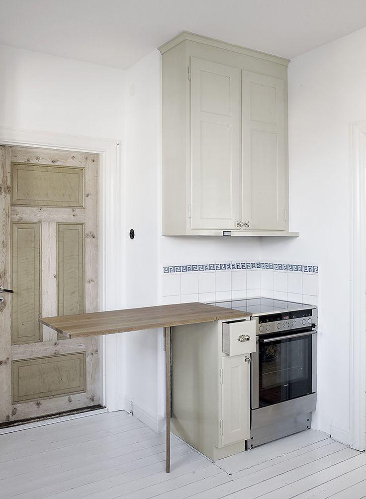 Platsbyggt kök på Irisgatan av Möllansverkstäder i Malmö /Heirloom køkken