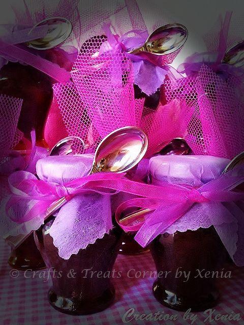 #bobonieres #wedding #treats #christening #treats #marmelades