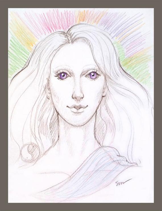 Spirit Guide Drawing - more than \