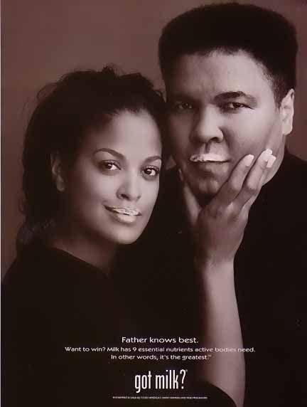 Got Milk? ~ Lalila Ali and Muhammad Ali