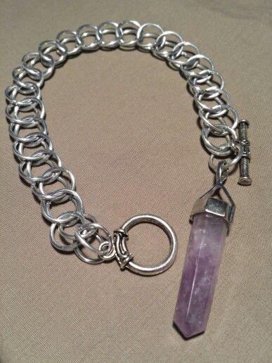 Half Persian Amethyst bracelet