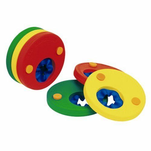 Swim Disc Band. Delphin Arm Bands. 1-SIZE. yellow - red.
