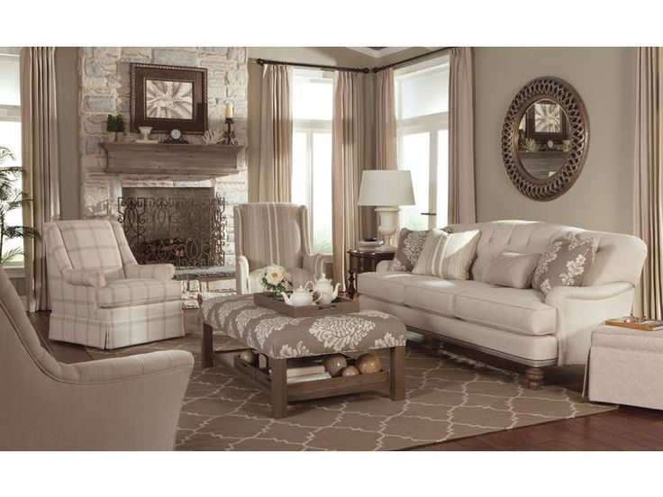 Paula Deen By Craftmaster Living Room Sofas P744950BD   Tyndall Furniture  Galleries, INC   Charlotte