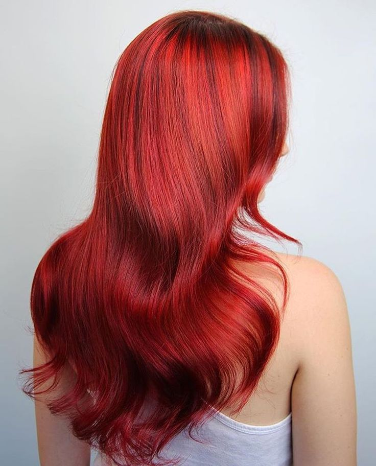It's always a good day to go red! Whether you want to take a short or long walk on the red side, we have a professional hair color line for you!