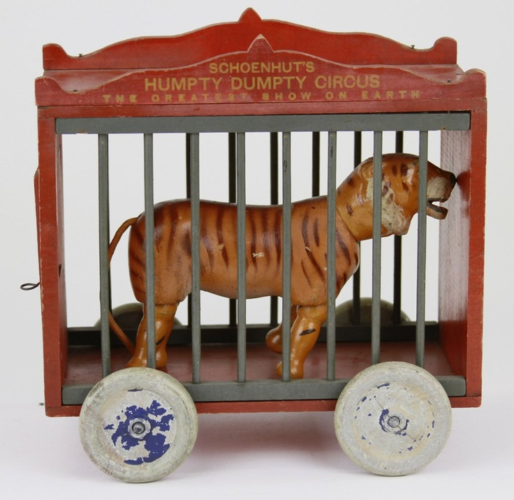 "Car Auctions In Nj: SCHOENHUT 12"" CAGE WAGON : Lot 1706"