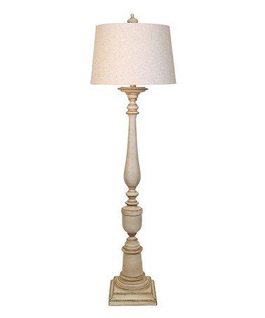 Look what I found on #zulily! Avignon Beige Floor Lamp #zulilyfinds