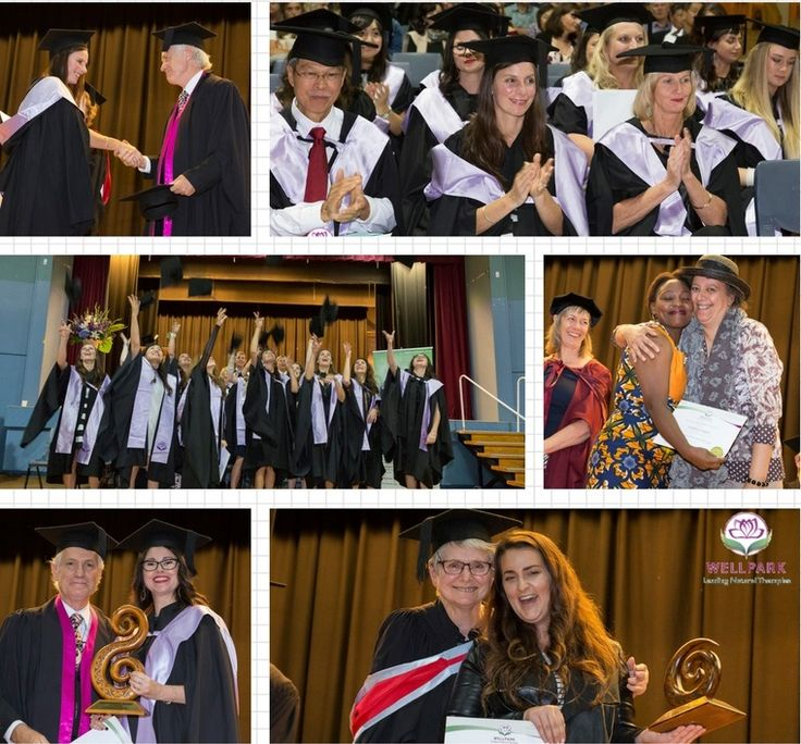 Wellpark College Graduation 2017. Well Done everyone. Find out about Wellpark College's Natural Health Courses at www.wellpark.co.nz